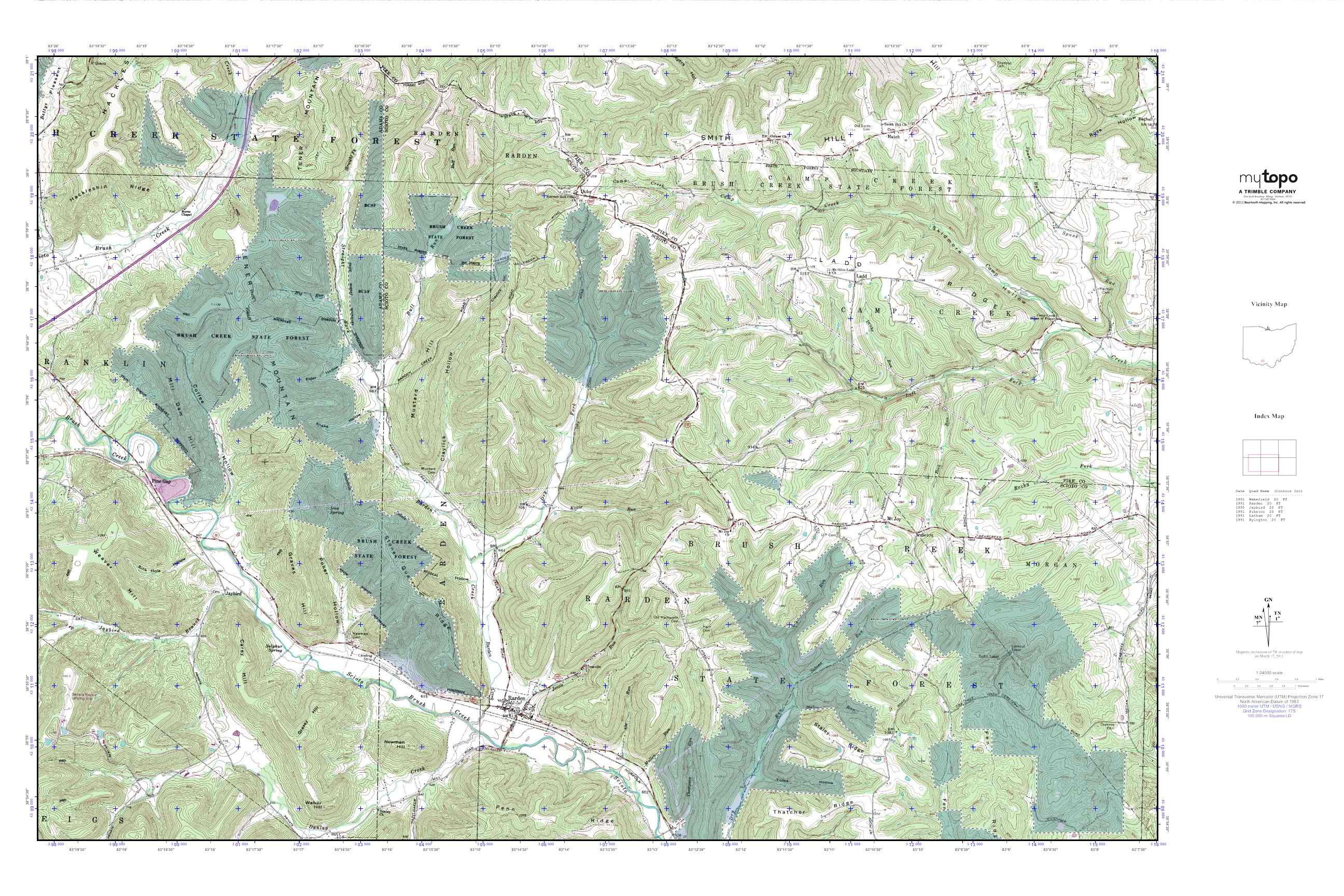 Links Wells Outdoors - Dnr topo maps